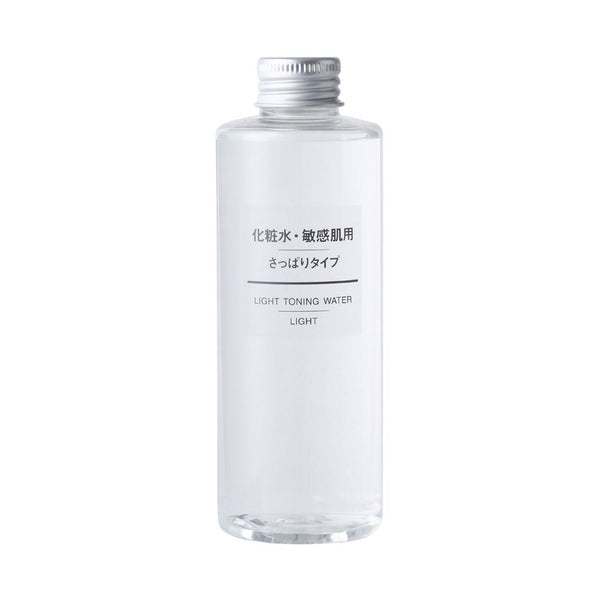 "MUJI Sensitive Skin Light Toning Water, ""Light"", 6.76us fl oz (200mL)-Muji-Price JPN"