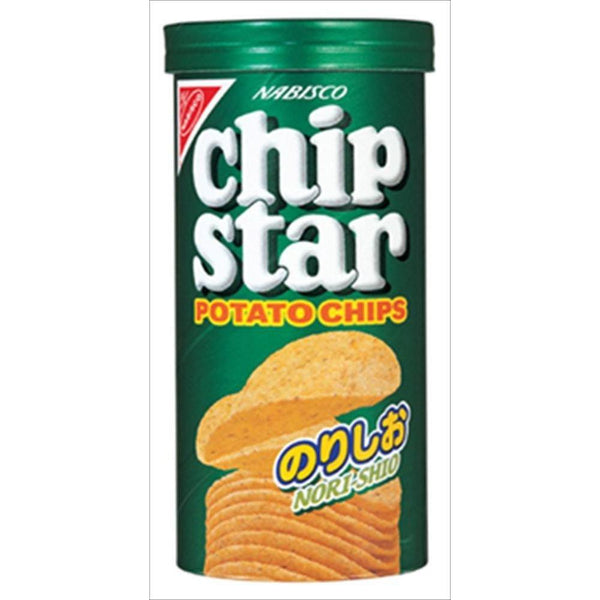NABISCO Chip Star, POTATO CHIPS, Seasoned Laver & Lightly Salted 1.8oz-Yamazaki biscuits-Price JPN