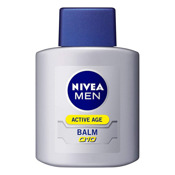 NIVEA MEN ACTIVE AGE BALM Q10, Milky Lotion 3.38us fl oz (100ml)-Nivea-Price JPN
