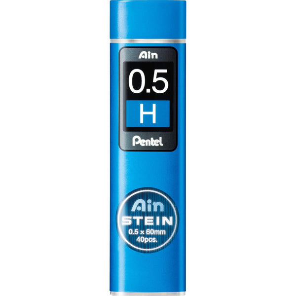 Pentel Ain Stein Mechanical Pencil Lead, 0.5mm H, 40 Leads (C275-H)-Pentel-Price JPN