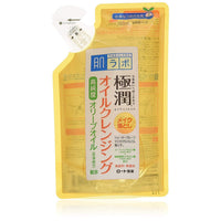 ROHTO, Hadalabo Gokujun Cleansing Oil Refill 6us fl oz (180mL)-HADALABO-Price JPN