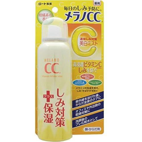 Rohto MeranoCC, Stains and Freckles Measures, Whitening Mist Lotion, 3.53oz-Rohto-Price JPN