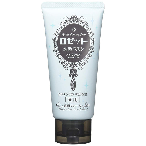 Rosette Facial Cleansing Paste, Hyogadei Cleanse, Aloe Vera Leaf Extract Combination 4.23oz-ROSETTE-Price JPN