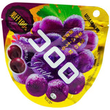 UHA-Mikakutou KOKORO Grape, Gumi Candies 1.4oz-UHA taste sugar-Price JPN