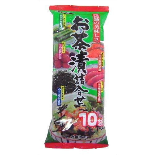 Urashimanori, Assorted Seasoning for Rice Soup, 10 servings 2oz-Urashima-Price JPN