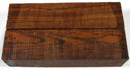 Bocote Wood Turning Block