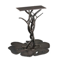 Les Arbres steel table legs.