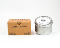 Metal Tin Soy Candle - Lavender/Bergamot-Calyan Wax Co-candle