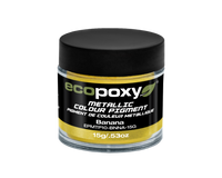 EcoPoxy 15g Metallic ColorPigment - Banana