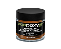 EcoPoxy 15g Metallic ColorPigment - Copper