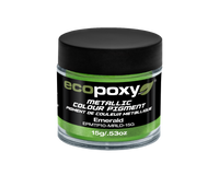 EcoPoxy 15g Metallic ColorPigment - Emerald