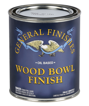 General Finishes Wood Bowl Finish