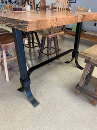 Steel High Table Base