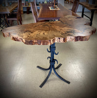 Spalted Pecan Entry Table