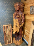 Carved Wooden Indian
