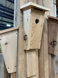 Cypress and Cedar Birdhouses