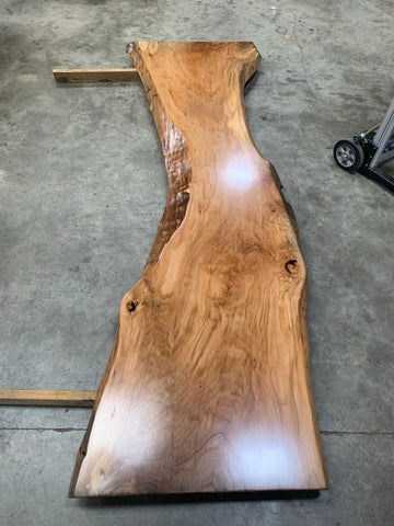 Live Edge Sycamore Slab LES069