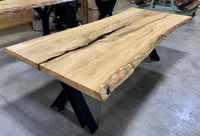 Live edge Cottonwood Slab - LES-120