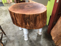 Historic Tree Stump Butcher Block
