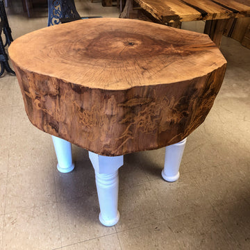 Sycamore Tree Stump Butcher Block