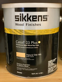 Sikkens Cetol 23 Plus-RE Wood Finishes Natural Oak 005