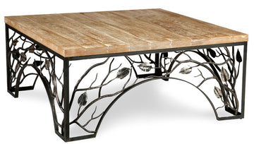 Woodland coffee table base