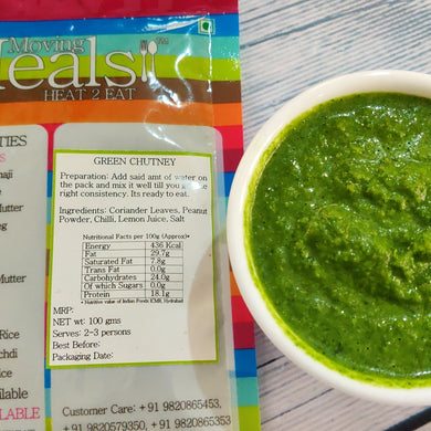 Green Chutney (Dehydrated and preservative free)