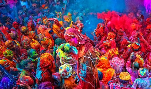 What is Holi, and how do people celebrate it?