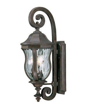 426742 - Three Light Wall Lantern - Walnut Patina