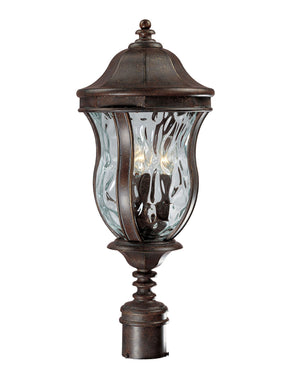426743 - Three Light Post Lantern - Walnut Patina