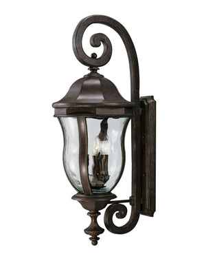 426741 - Four Light Outdoor Wall Lantern - Walnut Patina
