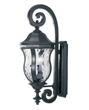 426745 - Three Light Wall Lantern - Black