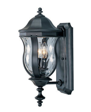 426723 - Two Light Wall Lantern - Black