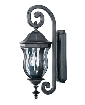 426729 - Two Light Wall Lantern - Black