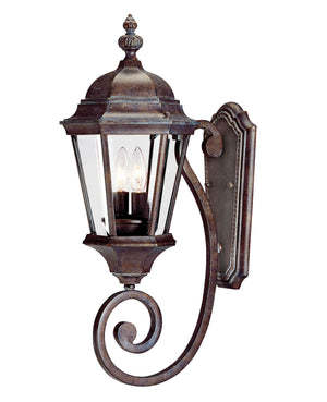 426718 - Two Light Wall Lantern - Walnut Patina