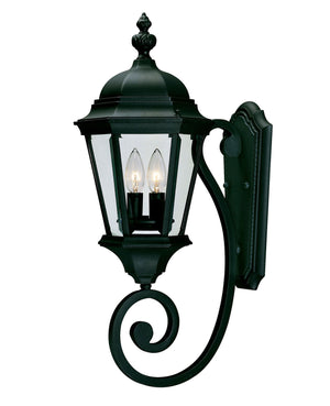 426716 - Two Light Wall Lantern - Textured Black