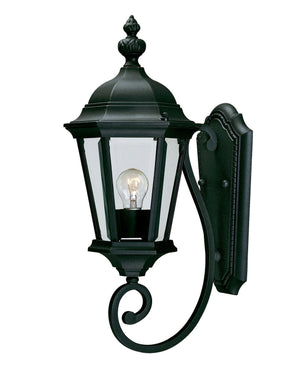 426717 - One Light Outdoor Wall Lantern - Textured Black