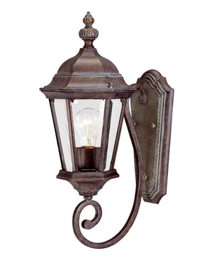 426715 - One Light Outdoor Wall Lantern - Walnut Patina
