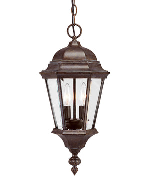 426780 - Two Light Hanging Lantern - Walnut Patina