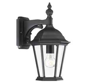 426782 - One Light Outdoor Wall Lantern - Textured Black
