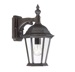 426783 - One Light Outdoor Wall Lantern - Walnut Patina