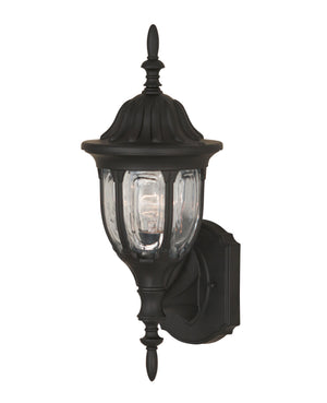 427093 - One Light Outdoor Wall Lantern - Black