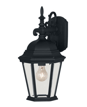427012 - One Light Outdoor Wall Lantern - Black