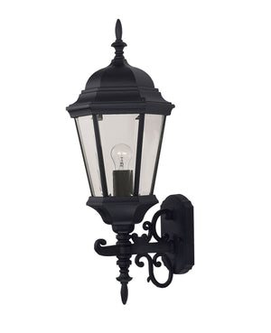 427013 - One Light Outdoor Wall Lantern - Black