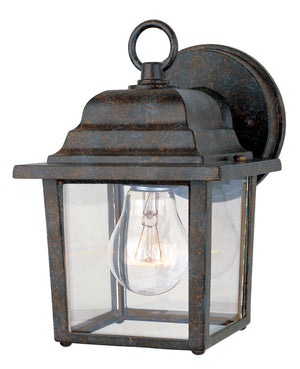 434663 - One Light Outdoor Wall Lantern - Rustic Bronze