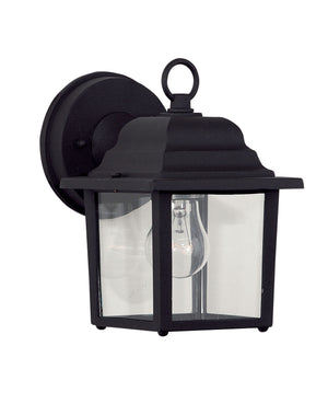 434706 - One Light Outdoor Wall Lantern - Black