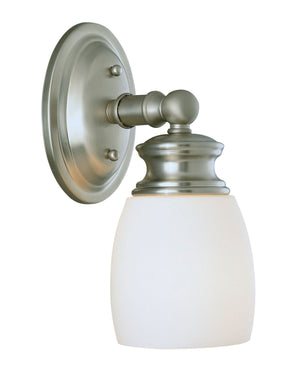 432057 - One Light Wall Sconce - Satin Nickel