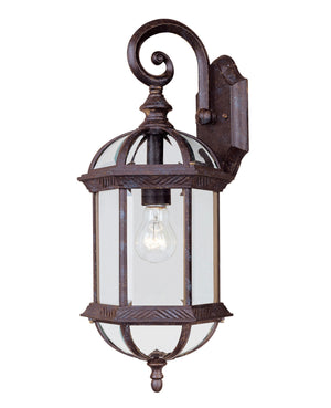433088 - One Light Outdoor Wall Lantern - Rustic Bronze