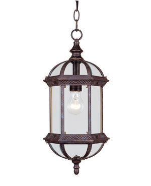 433086 - One Light Hanging Lantern - Rustic Bronze