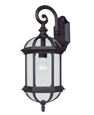 433062 - One Light Outdoor Wall Lantern - Textured Black